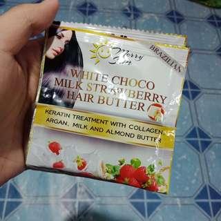 WHITE CHOCO MILK STRAWBERRY HAIR BUTTER