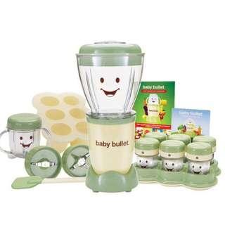 Baby Bullet Food Processor