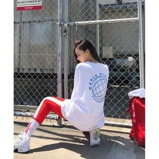 自製設計款✨ Palmtree And Soda . vol.2 小帥氣印花寬鬆上衣 ( CHUU 官網代購 ) T恤