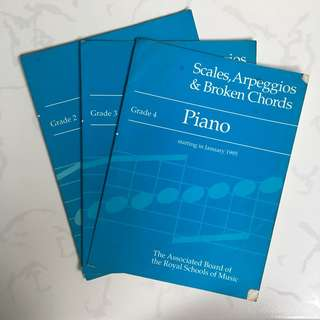 Piano Scores: Scales, Arpeggios & Broken Chords