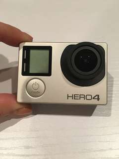 GoPro Hero 4 Silver + Accessories + Extra Battery