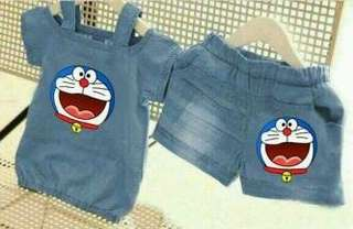 Set Dora Denim Kid Matt katun denim