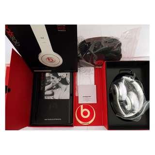Beats Solo 耳罩式耳機 HTC線控 (白色)