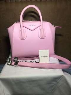 AUTHENTIC BRANDNEW GIVENCHY ANTIGONA- bright pink small