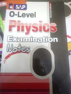 O Level Physics and Biology Examination Notes Revised Edition