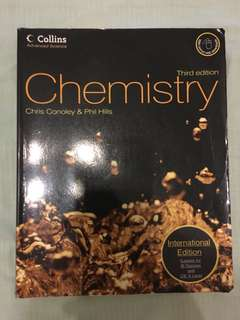 Chemistry (Suitable for IB Diploma and CIE A Level)