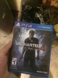 Uncharted 4 and resident evil 2