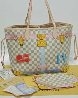 Louis Vuitton Neverfull Azur Summer Trunk Collection