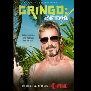 [Rent-A-Movie] GRINGO THE DANGEROUS LIFE OF JOHN MCAFEE (2016)