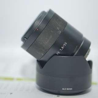Sony Zeiss 55mm f1.8