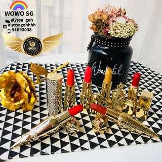 👄💄AUTHENTIC WOWO Prestige Luxury Lipstick Set👄💄