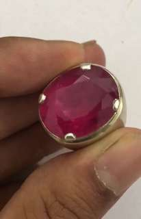 Rubellite gemstone (SOLD)