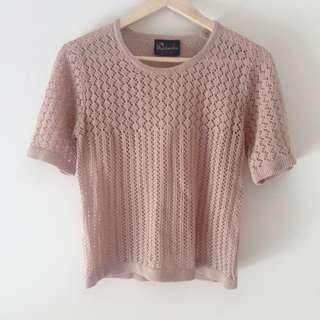 *REDUCED* Vintage Crochet Top