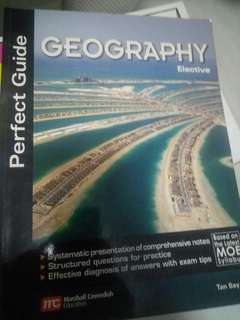 Geography Elective Perfect Guide