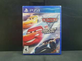 [BN] PS4 Cars 3 Driven to Win (Brand New)