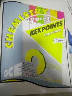 Pure Chemistry Key Points Exam Guide