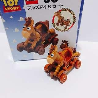 迪士尼 toystory 紅心 車仔