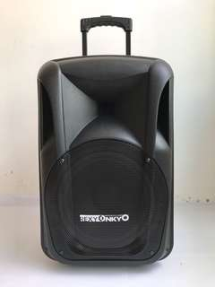 Rexy Onkyo Amplifer Speaker With 2 Wireless Microphone