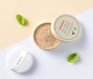 🍀Innisfree No Sebum Blur Powder