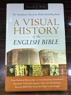 A visual history of the English bible - Donald Brake