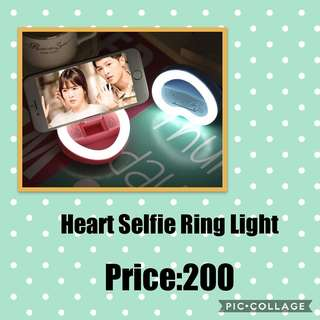Heart Selfie Ring Light