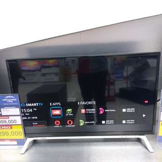 Led TV Toshiba 32 inchi Smart TV Murah Bisa Kredit Tanpa Kartu Kredit