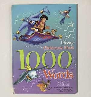 Disney children first 1000 words