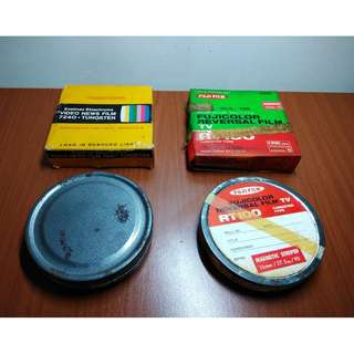 過期 美製柯達 16mm電影膠捲 正片底片 日製富士電影膠捲底片
