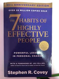Stephen covey seven habits of highly effective people