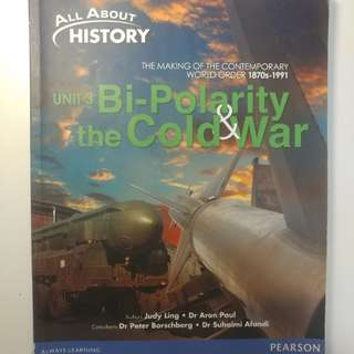 Sec 4 History Textbook - Unit 3 Bi Polarity & the Cold War