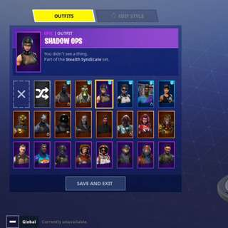 Fortnite account TRADE