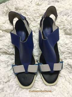 ISSEY MIYAKE COMFORT SANDALS BLUE/GREY JPN SZ23