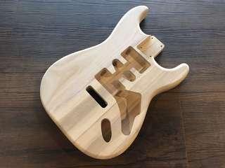 Guitar Body Paulownia Wood