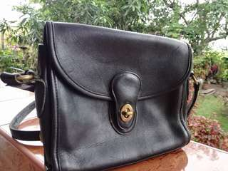 Vintage Coach sling bag
