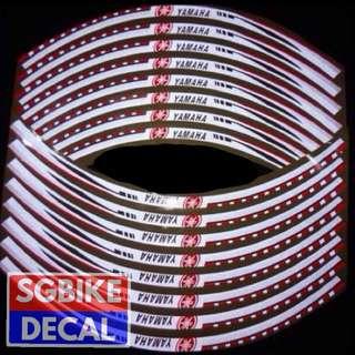 Yamaha Reflective Rim Decal