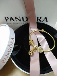 Pandora goldshine bracelet