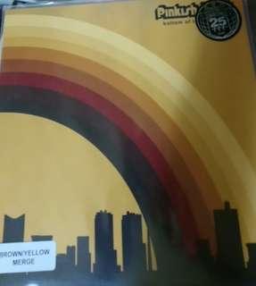 NM pinkish black record vinyl Ltd brown yellow bottom of the morning