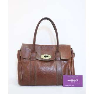60% New MULBERRY 啡色 牛皮 小號 Brown Leather Handbag