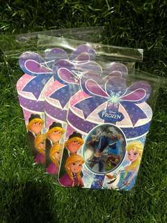 Disney Frozen Stickers And Winnie the Pooh