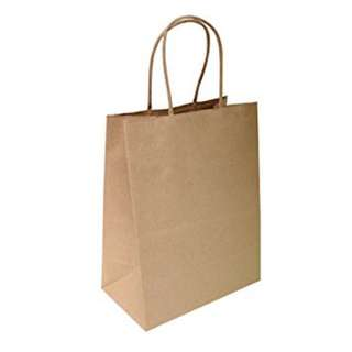 Portable Kraft paper bag (brown)