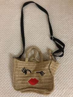 Stradivarious Rattan Bag
