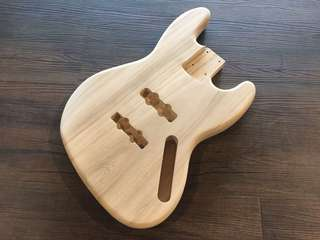Guitar Body Jazz Bass Paulownia Wood