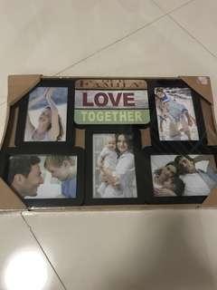 Family Photo Frame (BNIP)
