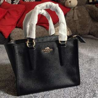 AUTHENTIC COACH CROSBY CARRYALL MINI (F 11925 )