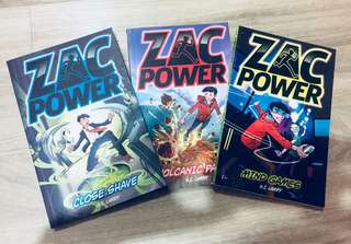 Boys' all time fav! Zac power 3 for $12
