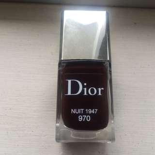Dior nail polish nuit