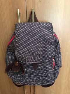 Kipling Polkadot Backpack