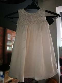 Stunning Ivory Monsoon Dress