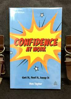 《Good Condition Preloved Paperback + How To Strengthen & Nurture True Confidence And Succeed In The Competitive World Of Work》Ros Taylor - CONFIDENCE AT WORK : Get It, Feel It, Keep It