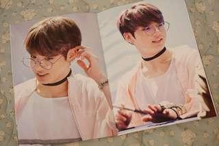 BTS Jungkook Fansite Photobook